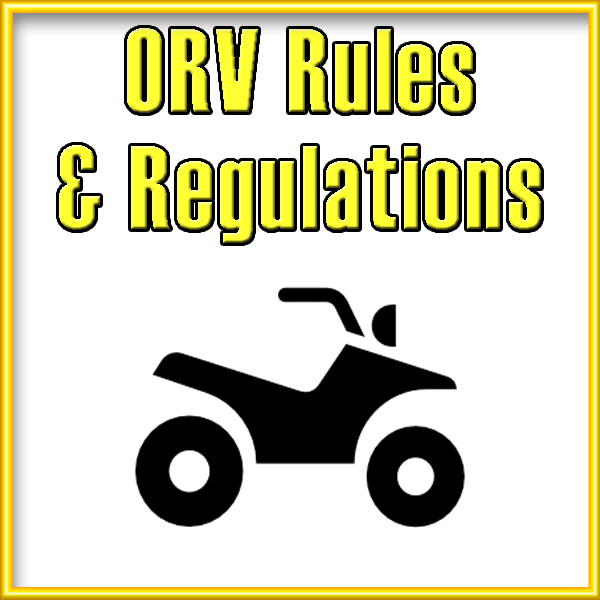 ORV Rules