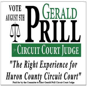 Gerald Prill Circuit Judge Political Ad
