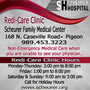 Scheurer Healthcare Network Ad