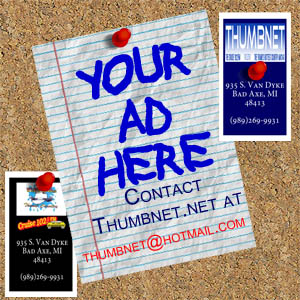 Your Ad Here Cork Board